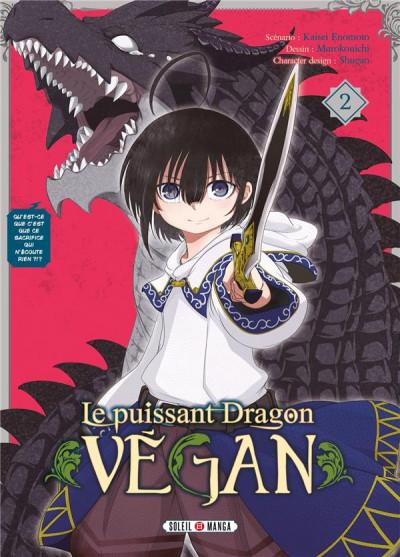 Couverture Le puissant dragon vegan tome 2