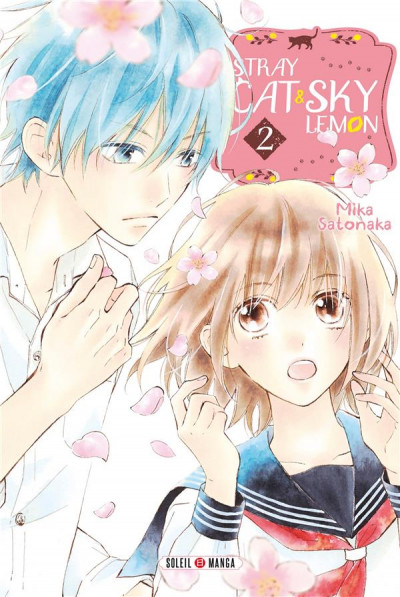 Couverture Stray cat and sky lemon tome 2