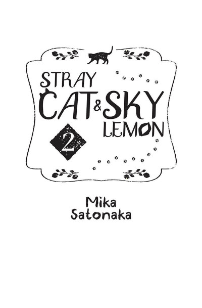 Page 1 Stray cat and sky lemon tome 2