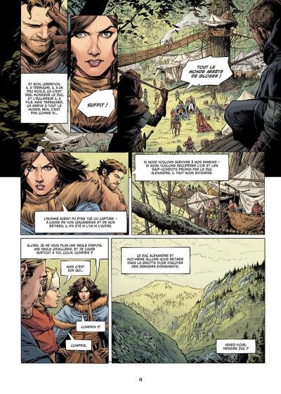 Page 9 Légende tome 8