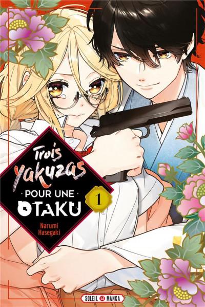 Couverture Trois yakuzas pour une otaku tome 1