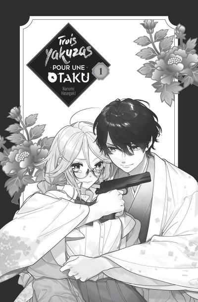 Page 1 Trois yakuzas pour une otaku tome 1