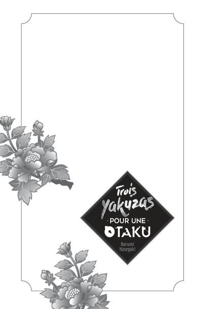 Page 3 Trois yakuzas pour une otaku tome 1
