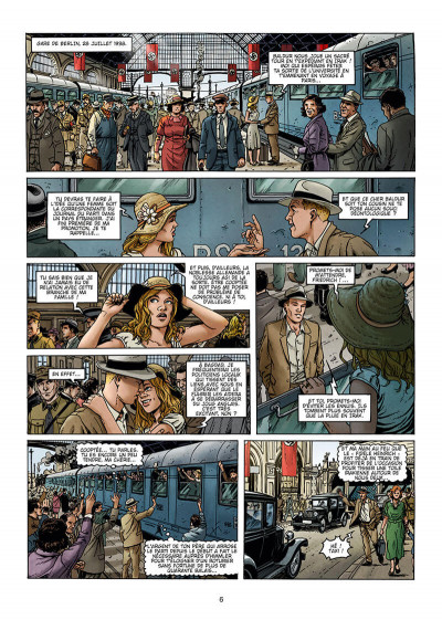 Page 6 Le château des millions d'années tome 1
