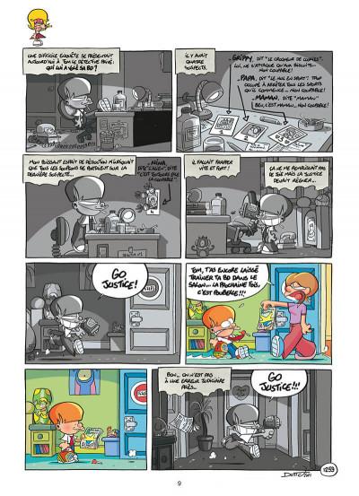 Page 9 Les p'tits diables tome 31