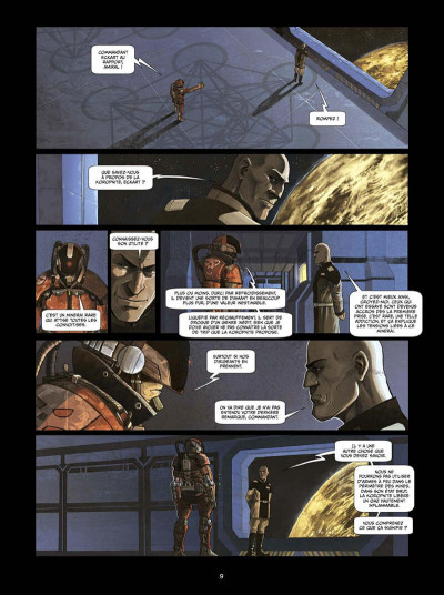 Page 8 I.S.S. snipers tome 1 + ex-libris offert