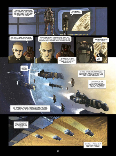 Page 9 I.S.S. snipers tome 1 + ex-libris offert