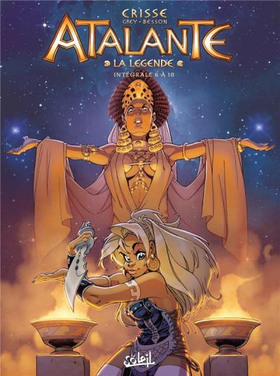 Couverture Atalante - intégrale tomes 6 à 10