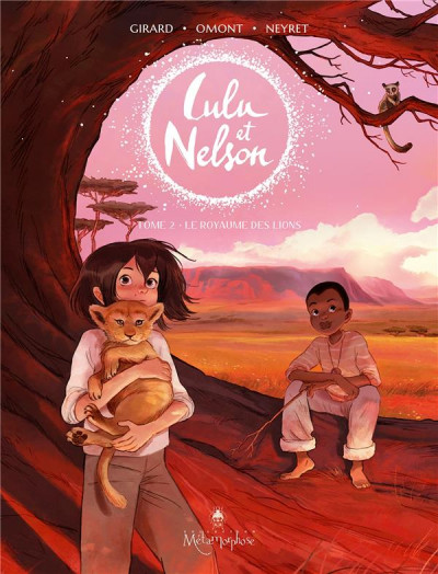 Couverture Lulu et Nelson tome 2