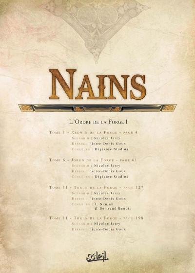 Page 1 Nains - intégrale - L'ordre de la forge