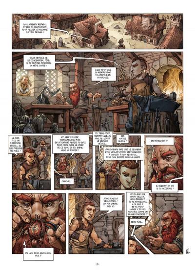 Page 6 Nains - intégrale - L'ordre de la forge