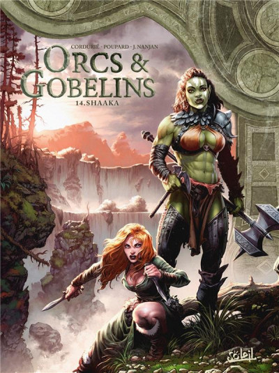 Couverture Orcs & gobelins tome 14