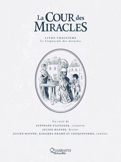 Page 1 La cour des miracles tome 3
