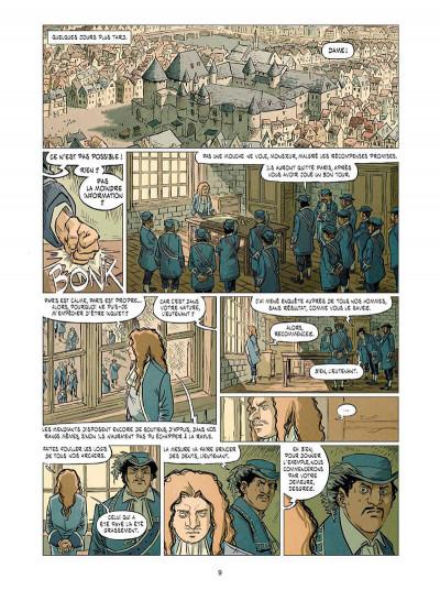 Page 9 La cour des miracles tome 3