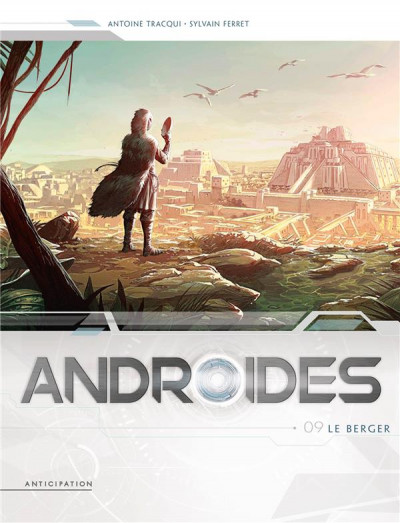 Couverture Androides tome 9 + ex-libris offert