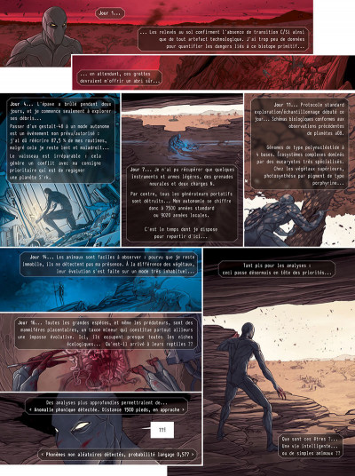 Page 5 Androides tome 9 + ex-libris offert