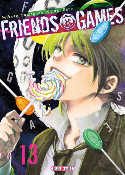 Couverture Friends games tome 13
