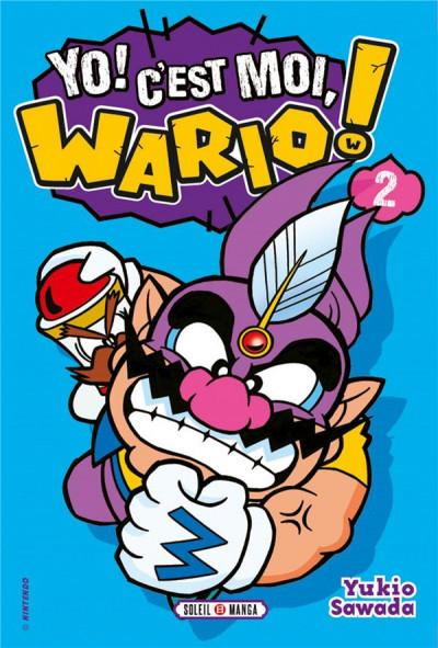 Couverture Yo ! c'est moi, Wario ! tome 2