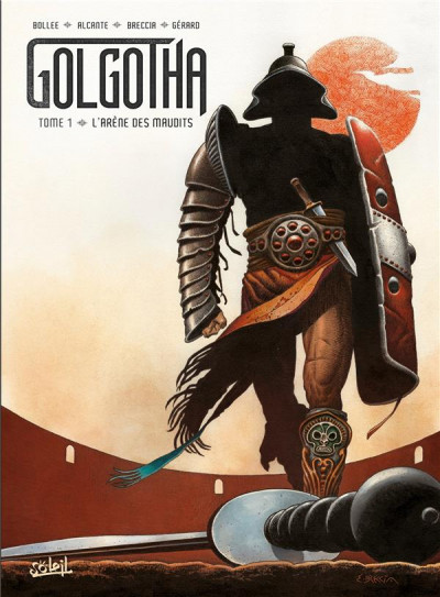Couverture Golgotha tome 1 + ex-libris offert