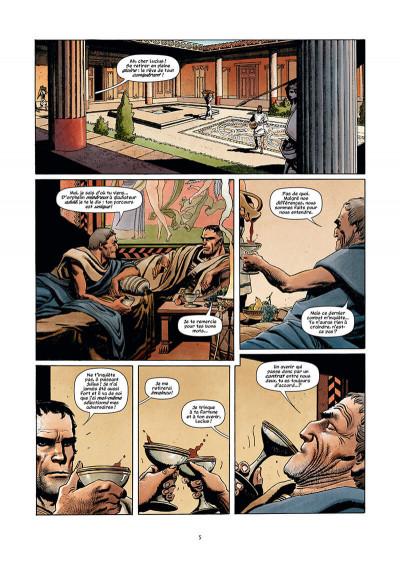 Page 5 Golgotha tome 1 + ex-libris offert