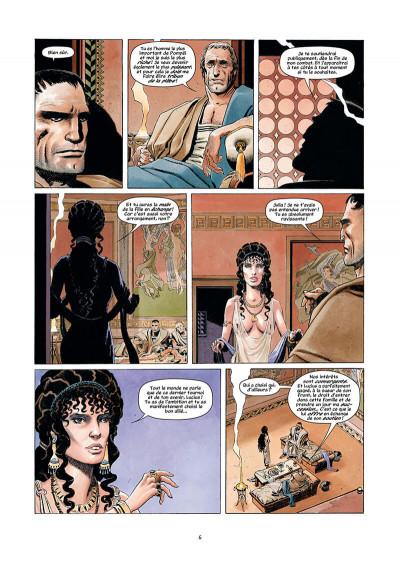 Page 6 Golgotha tome 1 + ex-libris offert