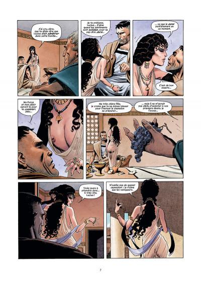 Page 7 Golgotha tome 1 + ex-libris offert