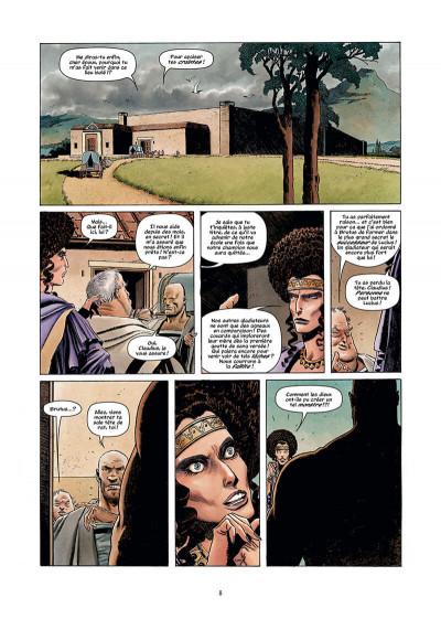Page 8 Golgotha tome 1 + ex-libris offert