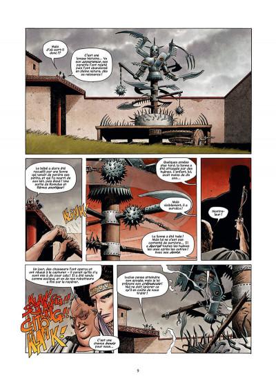 Page 9 Golgotha tome 1 + ex-libris offert