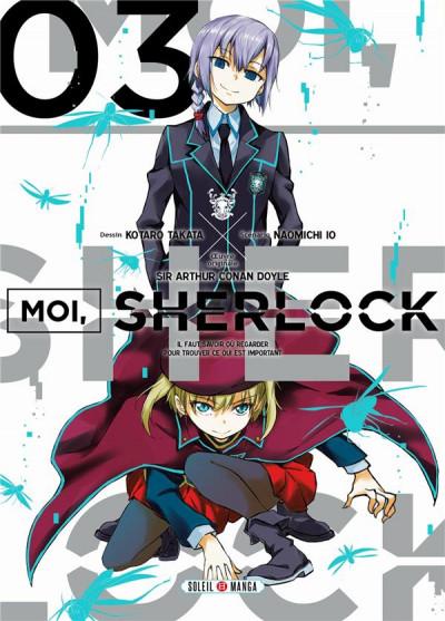 Couverture Moi, Sherlock tome 3