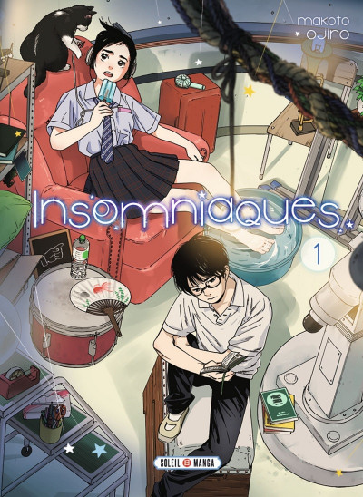Couverture Insomniaques tome 1