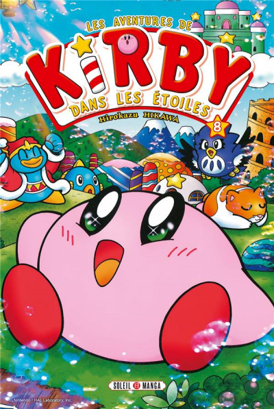Couverture Kirby tome 8