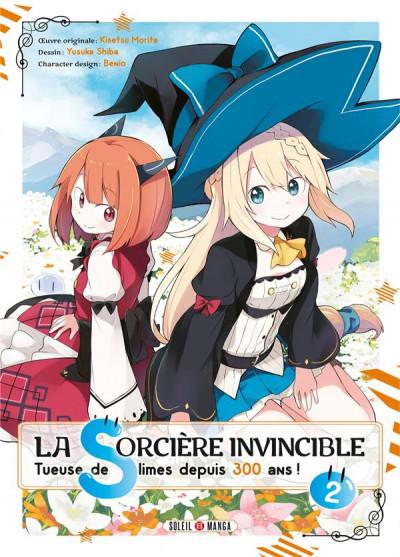 Couverture La sorcière invincible tome 2