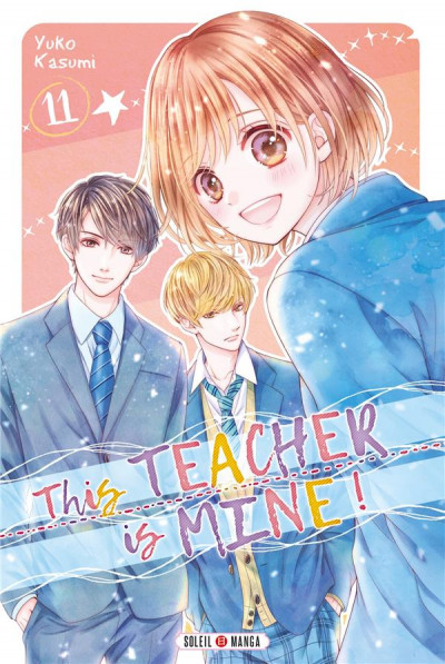 Couverture This teacher is mine ! tome 11