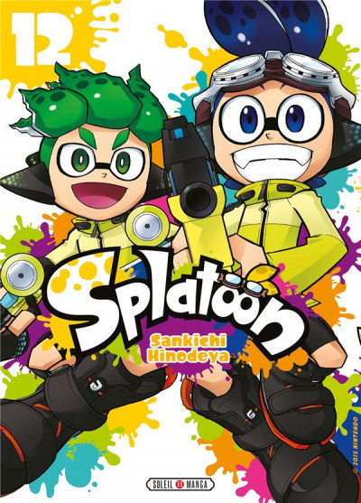 Couverture Splatoon tome 12