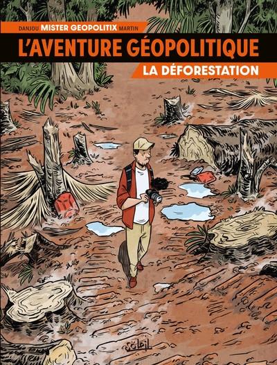 Couverture L'aventure géopolitique tome 1
