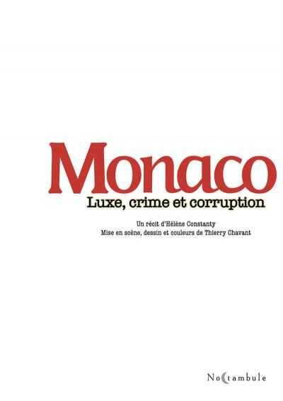 Page 1 Monaco - luxe, crime et corruption