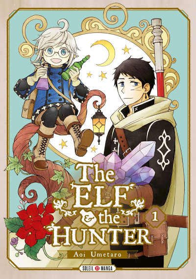 Couverture The elf and the hunter tome 1