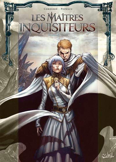 Couverture Les maîtres inquisiteurs tome 16 + ex-libris offert