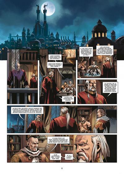 Page 6 Les maîtres inquisiteurs tome 16 + ex-libris offert