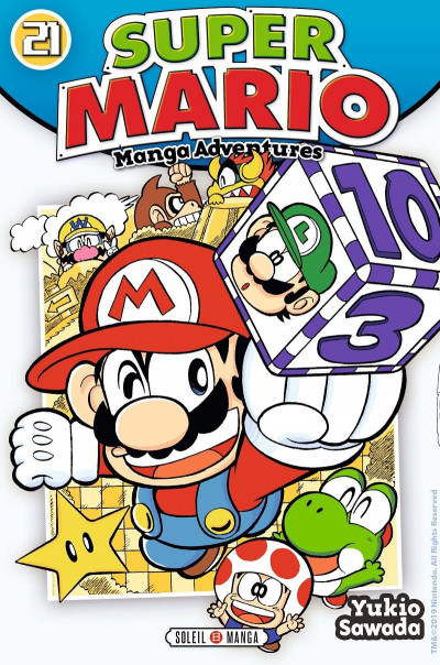 Couverture Super Mario manga adventures tome 21