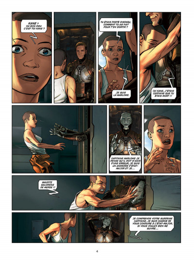 Page 4 Androïdes tome 11