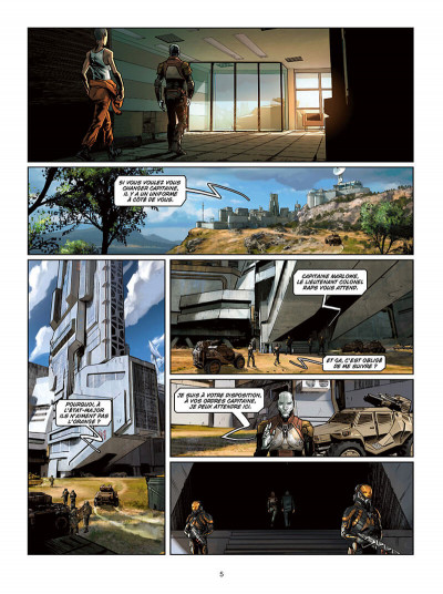 Page 5 Androïdes tome 11