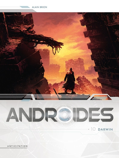Couverture Androïdes tome 10
