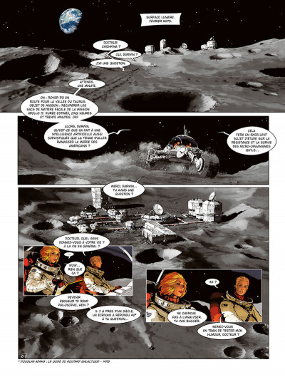 Page 3 Androïdes tome 10
