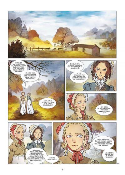 Page 3 Orgueil et préjugés tome 2