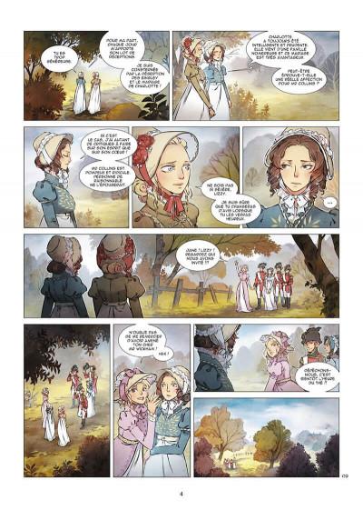 Page 4 Orgueil et préjugés tome 2