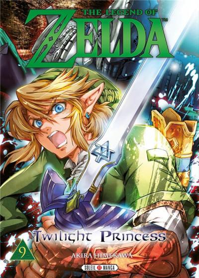 Couverture The legend of Zelda - twilight princess tome 9