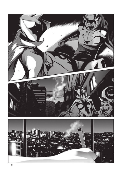 Page 9 Raw hero tome 1