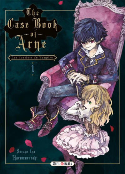 Couverture The case book of arne tome 1