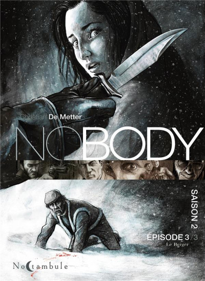 Couverture Nobody - saison 2 tome 3